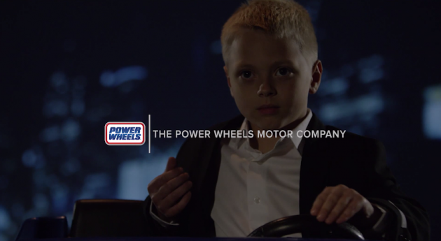 Power Wheels Lincoln parody