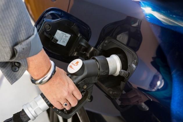 Toyota Mirai's fuel economy