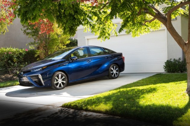 Toyota Mirai fuel-cell car