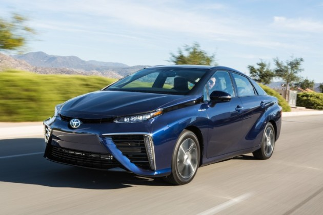 Toyota's release of fuel cell patents