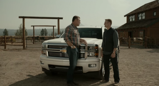 Howie Long Chevy Silverado video