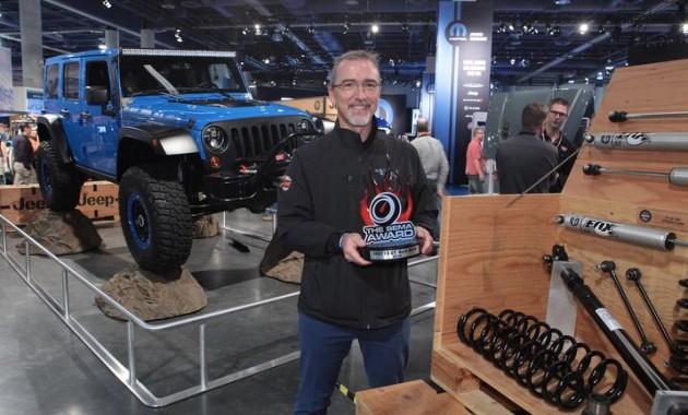 Hottest 4x4-SUV Award Wrangler