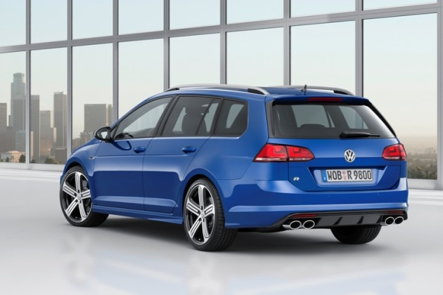 Volkswagen Golf R Variant Wagon Debuting at Los Angeles Auto Show