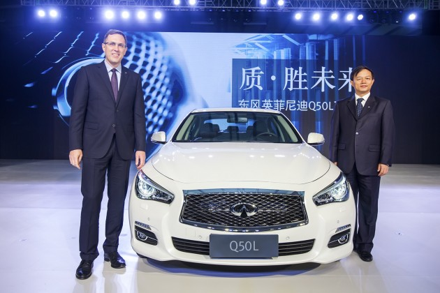 production of the Q50L