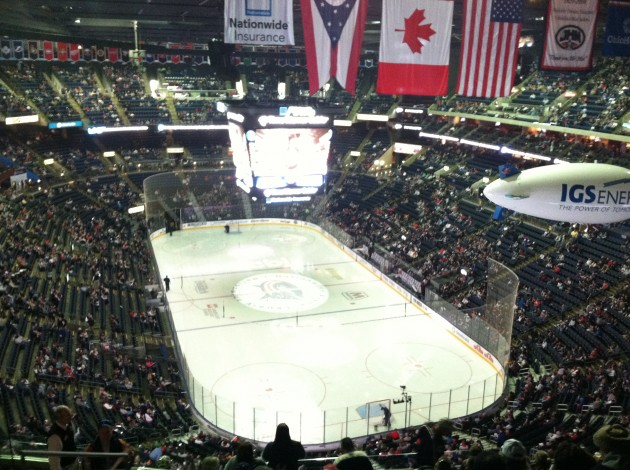 Nationwide Arena, where the 2015 NHL All-Star Game will be played