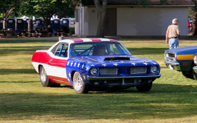 1972 Plymouth Cuda dragster