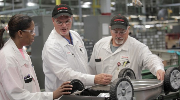 Freddie Wynn (middle) is who makes a Honda