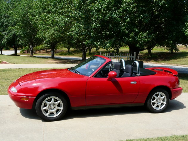 1994 Mazda MX-5 Miata Red