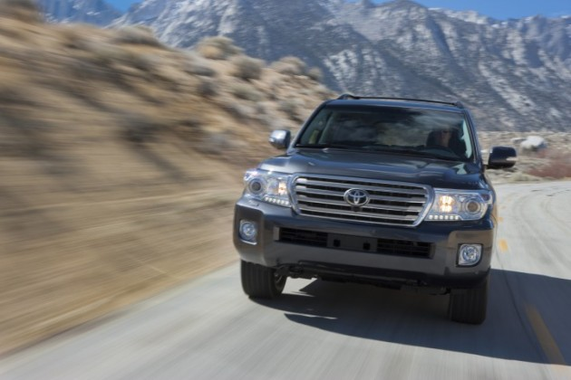 2015 Toyota Land Cruiser Overview