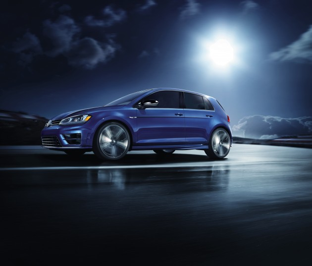 The 2015 VW Golf R pre-order begins January 8, 2015
