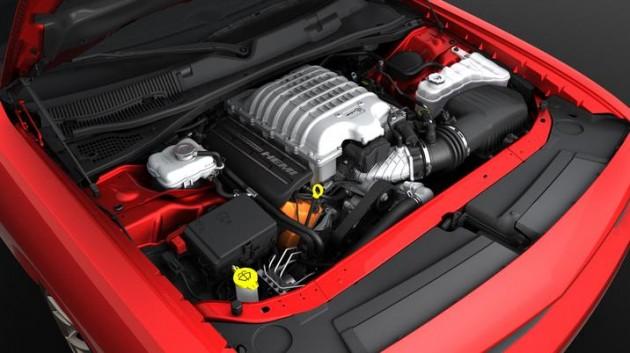 6.2-Liter HEMI Hellcat V8