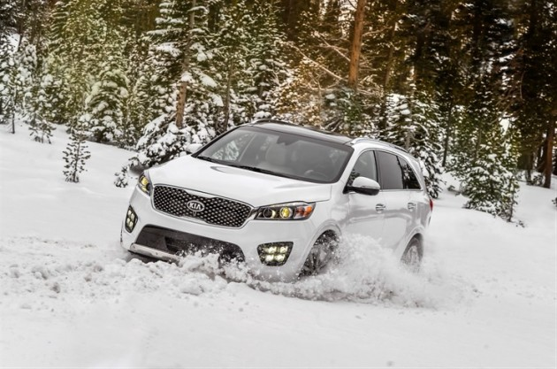 The 2016 Kia Sorento in Lake Tahoe