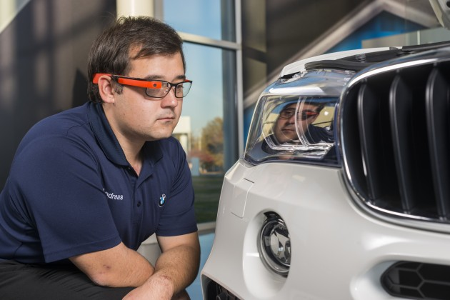 BMW Using Google Glass Inspection Test 3