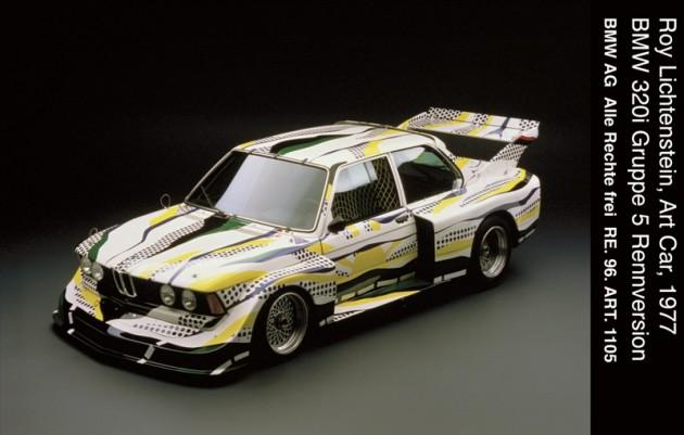 BMW's Art Basel Partnership car 4