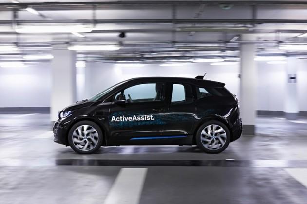 BMW's Remote Self-Parking Valet smartwatch car active assist