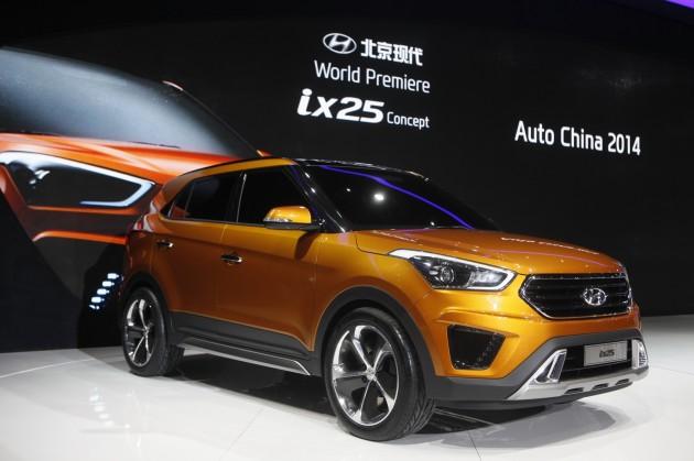 Beijing Motor Show ix25 Concept