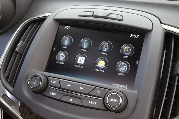 The Buick IntelliLink touchscreen buttons undergo strict testing before hitting the road.