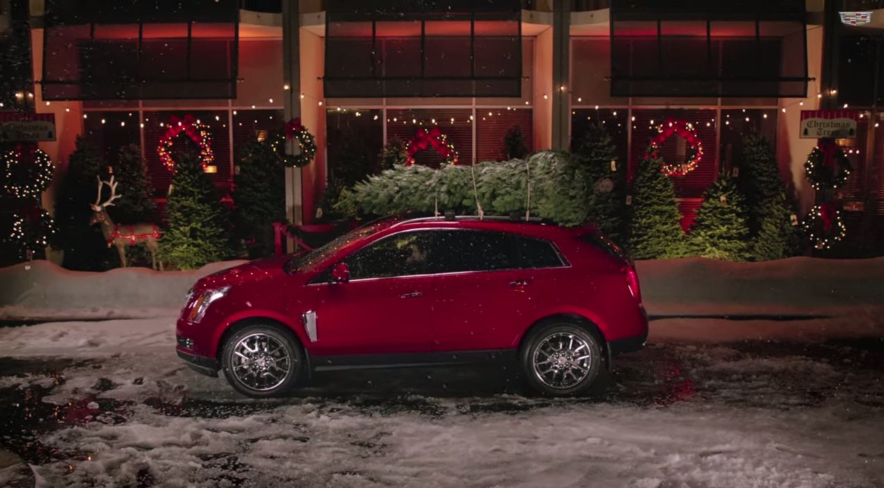Let Cadillac S Christmas Commercial Put You In The Holiday