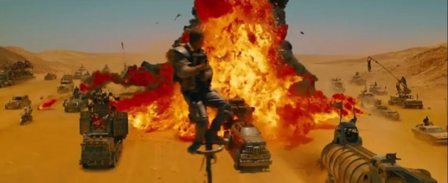 Car Crashes in the new Mad Max 10