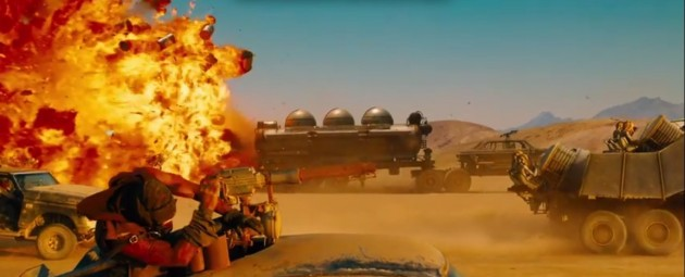 Car Crashes in the new Mad Max 2