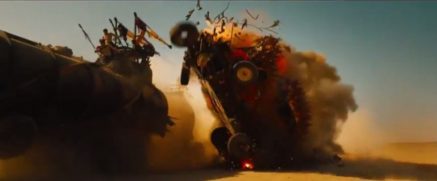 Car Crashes in the new Mad Max 6