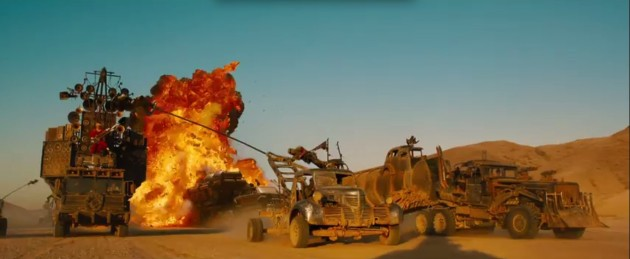 Car Crashes in the new Mad Max 7