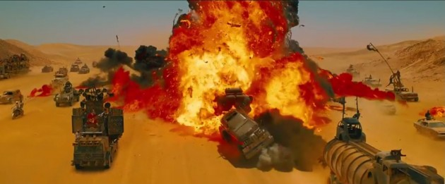 Car Crashes in the new Mad Max 8