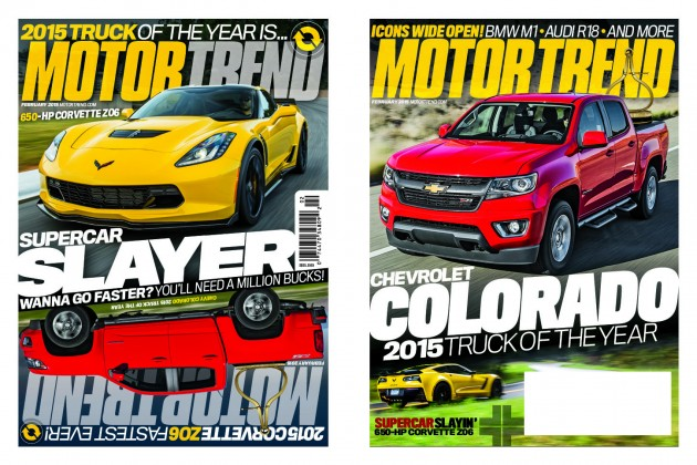 2015 Chevy Colorado was named the2015 Motor Trend Truck of the Year