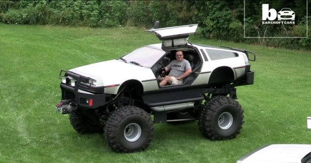 DeLorean Monster Truck and Limo Customize