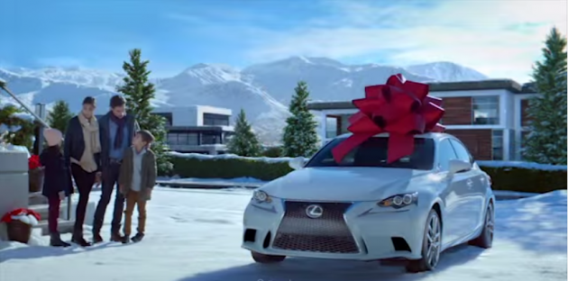 Like Big Bows on Cars? Check Out The Lexus December to Remember ...