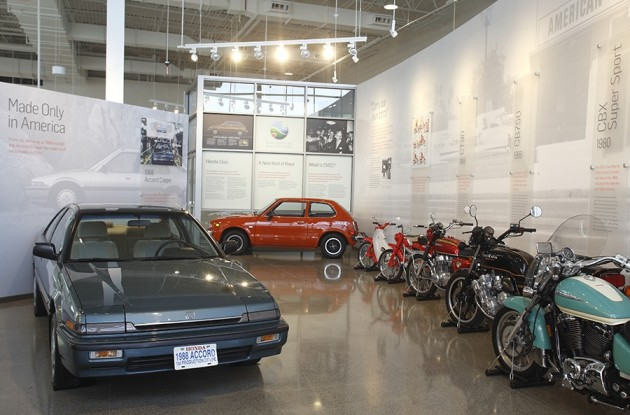 new Honda museum in Ohio