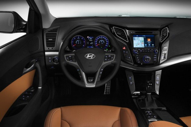 Hyundai i40 Debut Interior