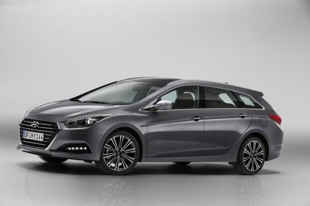 Hyundai i40 Debut front