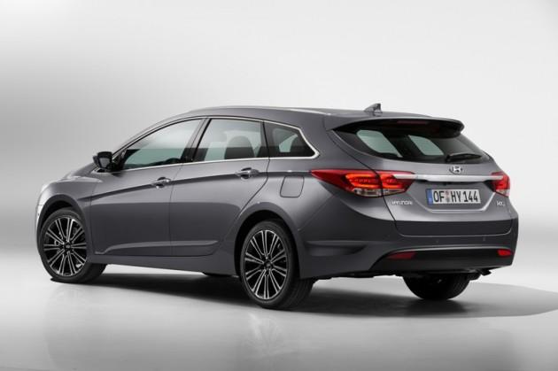 Hyundai i40 Debut rear