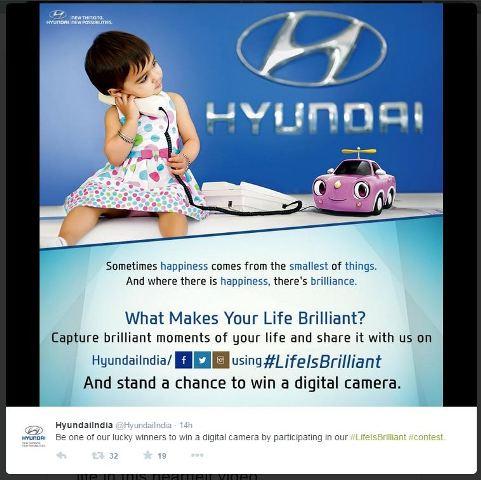 Hyundai's Life Is Brilliant Campaign India 1