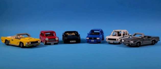 Lego Car Replicas