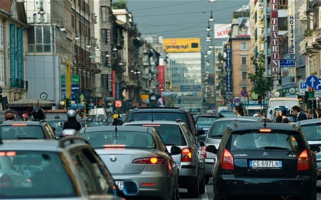 Milan Eases Traffic Flow