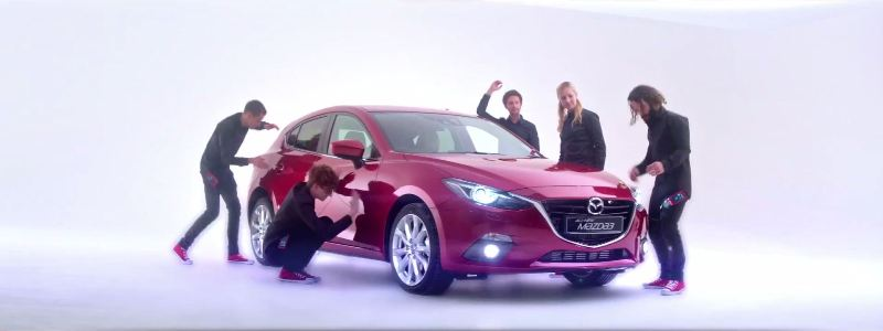 Mogees Creates an Automotive Musical Instrument with Mazda 2