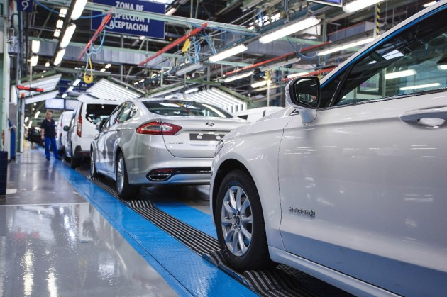 Ford Mondeo Hybrid production