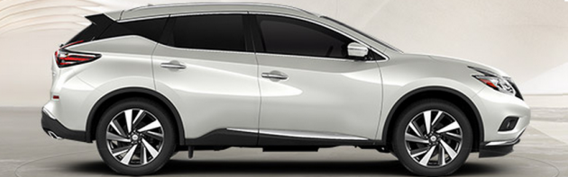 2015 Nissan Murano configurator