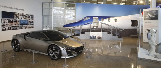 Honda Heritage Center and new Honda museum in Ohio