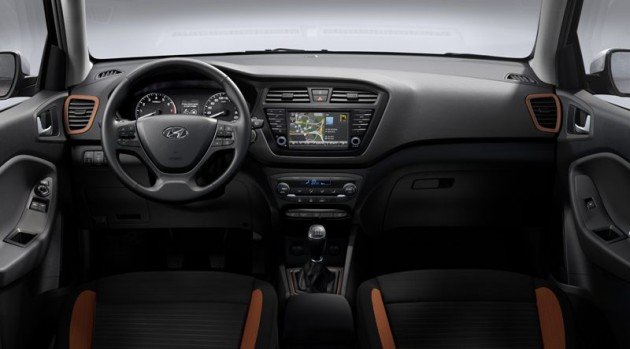 New Hyundai i20 Coupe interior