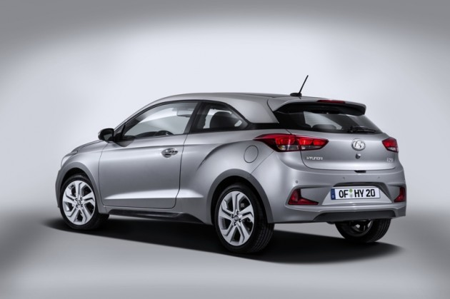 New Hyundai i20 Coupe rear