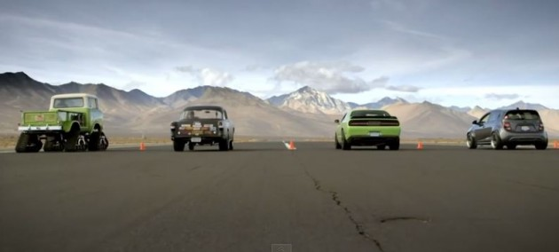 The SEMA drag race was the best untold story of the show.