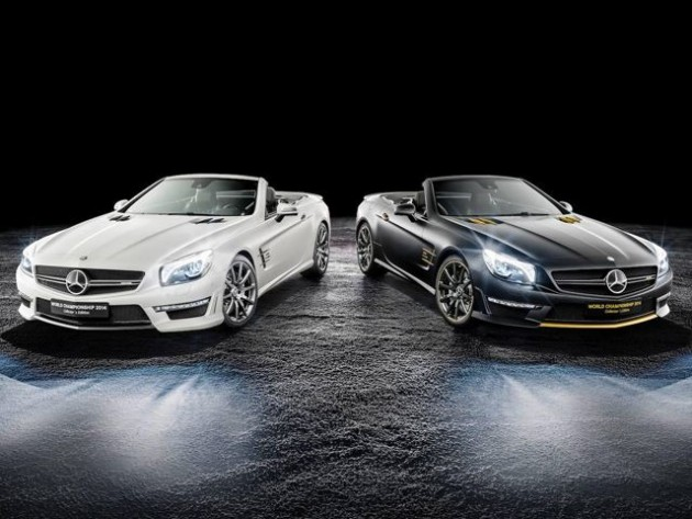 SL 63 AMG World Championship 2014 Collector's Edition