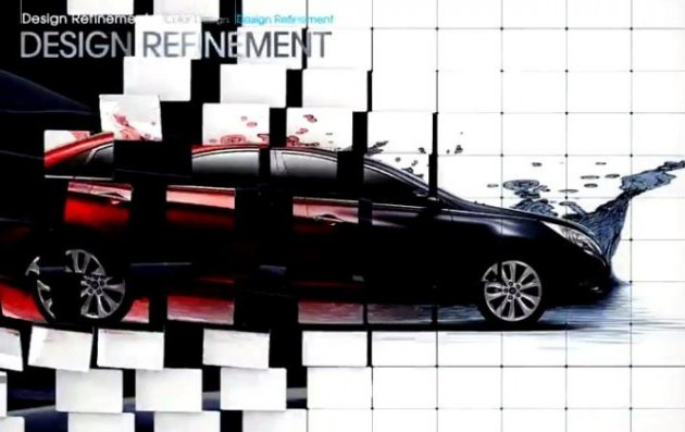 Sonata Design Video Hyundai Color rendering