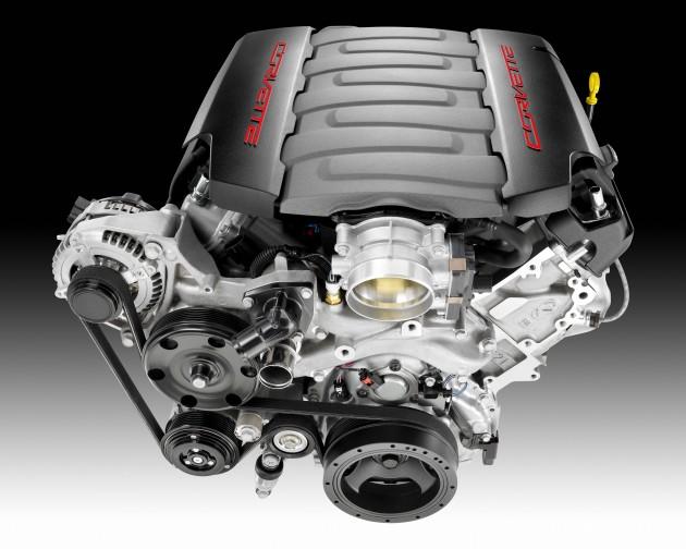 Corvette Stingray's LT1 Small Block 6.2-Liter V8