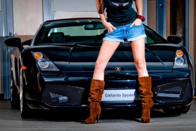 Supercar Dating Website Lamborghini black woman legs