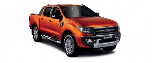 Ranger outsells Hilux