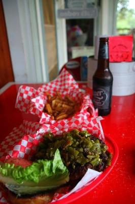 Alamo Springs Burger